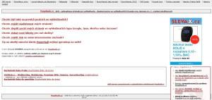 Úvodní stránka PageRank.cz - původní verze