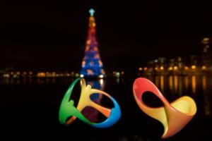 Logo olympidády a paralympidády v roce 2016