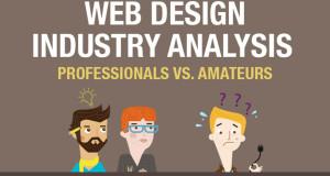 Infografika: Web designéři vs. amatéři
