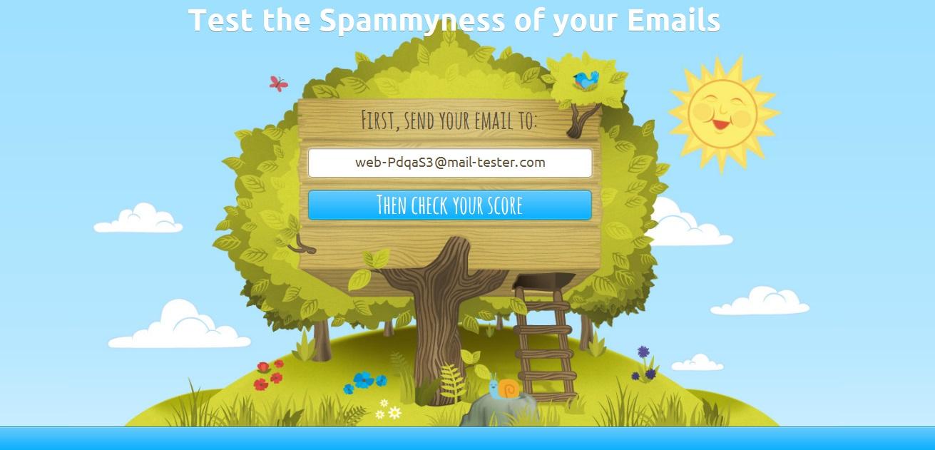 Mail tester com