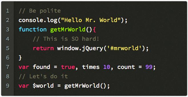 JSJ Code Highlight